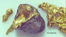 Auf der Such nach Gold Nuggets im Rhein Medel 1988 – 1992