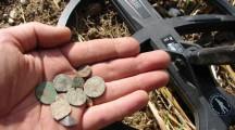 XP Deus finds roman coins