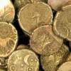 Metal Detector Finds 840 Gold Coins